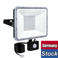 Sensor de movimento LED Flowllight de luz de inundação, luz de segurança 50W, 6500k, ip66 à prova d'água para garagem pátio patiário pathway datchways