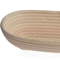 غير سامة Baguette Baskets عملي أدوات الخبز العجين Banneton Brotform التدقيق إثبات الروطان سلة KKB7743