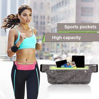 Dog Car Seat Covers Waterproof Running Waist Bag Canvas Sports Jogging Portable Outdoor Phone Holder Belt Women Men Fitness Sport Accessorie