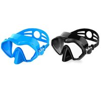 Diving Masks 2x Adult Mask Silicone Snorkeling Equipped With Adjustable A & B