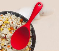 Silicone Rice Kitchen Spoon Non-Stick Pan Cooker Not Hurt Scoop