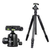 Tripods Professional High Quality BEXIN W284C H36 For DSLR Camera Carbon Fiber Po Tripod