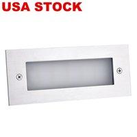 Straßenbeleuchtung LED Indoor Outdoor Step Beleuchtung Treppenlicht 7 Watt Weiß 6000K (Warmweiß) Geeignet für den Innenhof Blumenbett Ecken Schwimmbäder