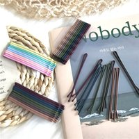 2019 10pcs Hair Clip Ladies Hairpins Girls Hairpin Curly Wavy Grips Hairstyle Hairpins Women Bobby Pins Styling Hair Accessories