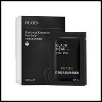 EPACK BOX 15PCS PILATEN MINERAUX FACIAL MINERAUX CONJ NEZ Nez Blackhead Masque Masque Pore Nettoyant Nez Noir Tête Noir EX Pore Strip