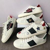 Designer Designer Scarpe Ape Green Red Stripes Uomini Donne Sneaker Bianco Tiger Love Scarpe casual Party Trend Ace Moda Scarpa Scarpe da passeggio Scarpe con scatola taglia 36-45