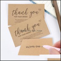 """Greeting Event Festive Party Supplies Home & Gardengreeting Cards 30Pcs Online Retail Cardstock Package """"Thank You For Your Order"""" Postcards"""