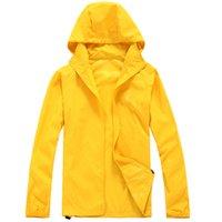 Nf 2021 New Summer Womens Mens Rain Jacket Coats Outdoor Casual Hoodies Windproof and Waterproof Sunscreen Coats XS-XXXL