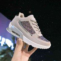 Женская повседневная обувь Осенняя плоская вулканизация Женская Bling Tourisure Женская модная платформа Plus Size Tooss 2020