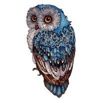 Canlv Spot Специальная в форме серии большой глаз сова головоломка Специальная в форме головоломки сова взрослый головоломки детские животные сова праздник