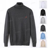 디자이너 스웨터 남성 여성 수석 클래식 긴 소매 옷 레저 스웨터 여러 가지 빛깔의 가을 겨울 따뜻한 편안한 7 종류의 선택 top1