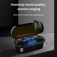 XG13 TWS Kablosuz Kulaklık Bluetooth 5.0 Gerçek Stereo Kulaklık Kulak Kulaklık Gürültü Azaltma Spor Perakende Kutusu Ile Kulaklık Kulakiçi