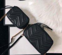 Сумка натуральная кожаная сумка для плеч цепь кошелек мода коровьей сумки держатель мессенджер поперечины сумки оптом