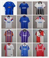 Rétro 93 94 Glasgow Rangers Soccerys Soccerys 82 83 87 88 90 1992 1994 1995 96 96 99 99 2000 2002 Kits Vintage Gascoigne McCoist Classic Top Football Shirts