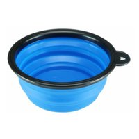 Le nuove ciotole di alimentazione del gatto pieghevoli e dei cani sono disponibili con alimentatori per vassoi ad acqua Pet e ciotole pieghevoli in silicone con ganci 207 V2
