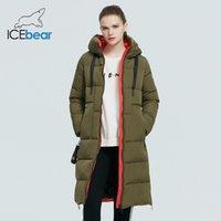 Icebear - Женский капюшон ET, высокое качество длинного пальто, известный бренд пальто, зимняя одежда, GWD19507i, новый в 2021 году