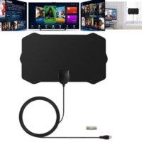 1080p Indoor Digital TV Antena Receptor Amplificador Radius Surf Antena HDTV Antenas Aéreo Mini Accesorio
