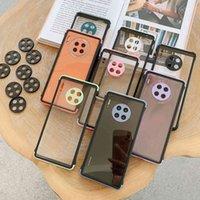 La nueva serie Root Go Rubik's Cube es adecuada para la caja del teléfono móvil Huawei Mate30 P30 / P40 Four Corner Fall Protection Funda