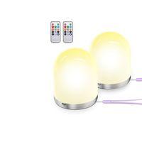 USB LED Night Light Colorful Nights Lights LEDs RGB Color Change Desk Lamp Home Decor for Children Kids Baby Bedroom Gift USASTAR