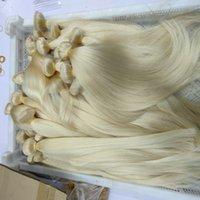 3 Bundles Good Deals Color 613 BlondeVirgin Hair Silky Straight Blonde Brazilian Peruvian Indian Unprocessed HumanHair Extension Weave Bundle