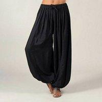 Mulheres Quentes Ali Baba Calças Aladdin Afegão Elástico Genie Hippy Jumpsuit Algodão Harem Solto Casual Senhoras Calças Dança Yoga Pantssoccer Jersey