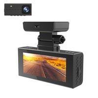 Камера автомобиля DVR 2K + 1080P Видеорегистратор G-Sensor Dashcam Dash Cam Регистратор Спиер Ночное видение DVRS