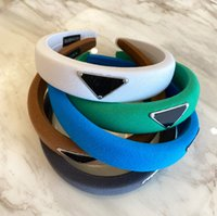 Diseñador de lujo para mujer Bandas para el cabello para mujer Girl Brand Elástico Headband Deportes Fitness Diadema Head Wrap 9 Color