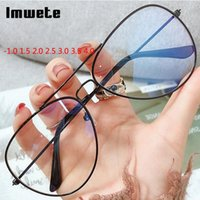 Fashion Sunglasses Frames IMWete -1.0 1.5 2.0 2.5 3.0 3.0 3.5 4.0 Finito Myopia Occhiali da donna Uomo Vintage Metal Prescrizione Occhiali da vista Near Sight