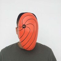 Party Masks Anime Japan Figures Cosplay Mask Naruto Uchiha Obito Cartoon Akatsuki Ninja Action Shippuden Halloween Xmas Gift