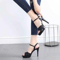 Sandals Ankle Wedding Ladies Pumps Breathable Women Shoes Plus Size For Women's Boots High Heels Gliruis
