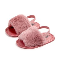 First Walkers 8 Colors Fashion Summer Baby Slippers Anti-slip Pu Leather Crib Girls Boys Sneakers Casual Shoes