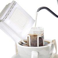 Kahve Filtreleri 50-200 ADET Tek Kullanımlık Damla Kupası Filtre Torbaları Asılı Araçlar Filtrelenebilir ve Taşınabilir