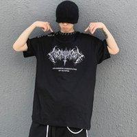 Erkek T-Shirt 11 BYBB'nin Koyu Hip Hop T-shirt Erkekler Nakış Boy Tişörtleri Yaz 2021 Streetwear Pamuk Harajuku Kısa Kollu Gömlek