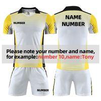 Custom Football Jersey Team Football Training Suit Adult Male Professional Jerseys Sports Clothes camisas de futebol