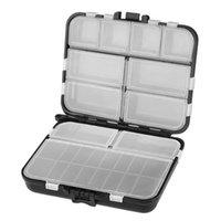 Boîte de pêche multifonctionnelle Boîte à outils d'équipement professionnel Organisateur (Noir) Accessoires