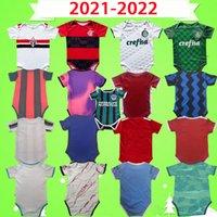 2021 Baby Kit Fussball Jersey Mailand Flamengo Sao Paulo Manchester Kids Anzug 2022 Monat Jungen Kinder Sets Marseille Football Hemd 21 22 Ronaldo Uniform Messi
