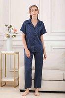 2021 Marca de moda Diseñador de moda Solid Color Color Color Cómodo Ropa de dormir Casual Para mujer Inicio Ropa interior Mujeres Modal Pijamas