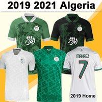 2020 2021 Algerien MAHREZ FEGHOULI Mens Fussball Jerseys 2019 Afrika Tasse Zwei Sterne Slimani Bennacer Atal Auswärts Fußball Hemd Kurzarm 21 22 Welt vorläufig