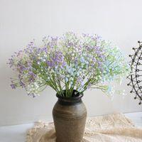 PCS Lot 60cm Fake Flower Gypsophila For Home Table Decoration Accessories Artificial Flowers DIY Wedding Party Decor Wreath Decorative & Wre
