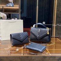 Designer moda mulher ombro sacos designers de três peças totes bolsa de couro genuíno de couro clássico design super grande capacidade de alta qualidade presentes 04