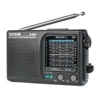 Ly Tecsun R-909 R909 Radio Portable FM / MW SW 9 banda Ricevitore parola retro tasca stereo conveniente