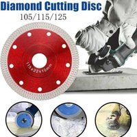 Hand & Power Tool Accessories 105 115mm 125mm Diamond Cutting Pressed Sintered Turbo Disc Porcelain Tile Mesh Blade Dry Saw Wet Cer J4J7