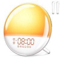 Track Lights Wake Up Light Table LED Lamp Sunrise Alarm Clock Dekala For Bedrooms Kids Atmosphere