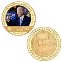 Joe Biden Souvenir Coin 2021 President Biden Commemorative Coin Biden Gold Commemorative Coin Metal Badge American President BH4553 TQQ