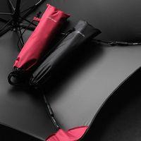 Umbrellas Car Uv Protection Umbrella Rain Women Anti Wind Parasol Beach Sunshade Foldable Paraguas Plegable Home Products DE50YS