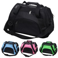 Portable Dog Cat Carrier Bag Pet Puppy Travel Bags Breathable Mesh Small Dogs Cage Crossbody Tote Pets Handbag Car Seat Covers