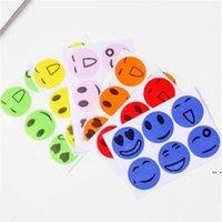 Yaz Günlük Haşere Kontrol Gülen Yüz Yüz Anti-Cibinlik Çıkartmaları Karikatür Kovucu Araçlar 6 Tokalar Rastgele Renkler Hafif ve Güvenli DHB5691