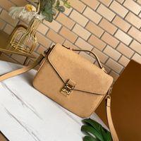 Empreinte Pelle Metis Classic Messenger Bag 10 colori vivaci con fibbia in metallo inciso oro Super morbida borse a tracolla moda