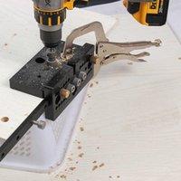 Holzbearbeitung DIY Runde Dübel Professionelle Punchlochöffner Tischler Rechte Winkel in Kombination mit Möbeln Puzzle AIDS