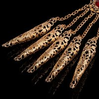 Charm Bracelets 1pc Women's Girl's Belly Dance Dancing Finger Thai Golden Jewelry LX9E